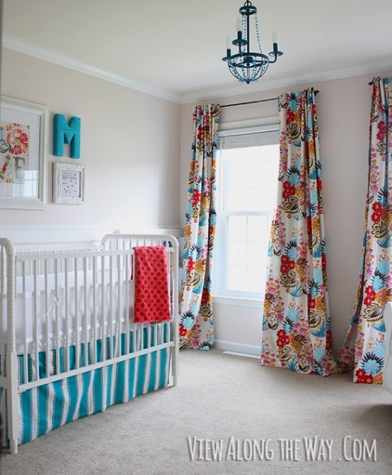Colourful DIY Curtains