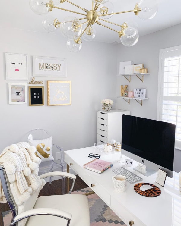 An attractive workspace can make you happier